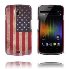 Klassisk Patriot (Flag of USA) Samsung Galaxy Nexus-Skal