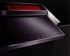 Really sleek induction cook top.