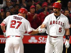 Mike Trout homers in fourth consecutive game as Angels win