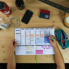 """Here's another inside look at life at #passionplanner Headquarters! Check out what Chelsea, one of our longest running team members has to say about her Passion Planner! - """"At the end of each day, I love ❤️ to sit down and write ✍ about my favorite moments. One of the favorite memories I've recorded was my Chicago trip with my brothers. We saw a Bulls game, ate a lot of food , and explored the beautiful city. """" Chicago Trip, Chicago Travel, Agenda Planner, Passion Planner, Journal Prompts, Journal Ideas, Planning And Organizing, Study Inspiration, Planner Ideas"""