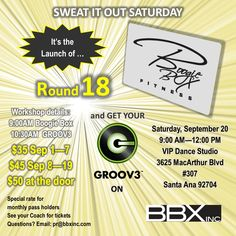Join Creator of BBX, Dede Barbanti and team, for the Launch of Boogie Box Round 18! It's going to be a blast!