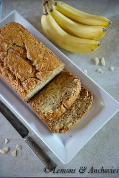 Banana Bread with Cookie Butter
