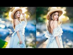How I add More Bokeh and Make Background Pop, Photoshop Tutorial - YouTube