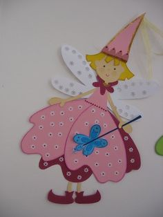 molde fada...netpra vc, via Flickr. Felt Crafts, Paper Crafts, Baby Applique, New Things To Try, Applique Templates, Foam Sheets, Cross Stitch Baby, Tole Painting, Punch Art