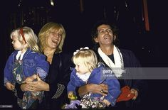 News Photo : Musician Keith Richards w. wife, model Patti...