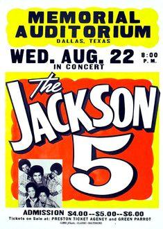 the Jackson 5 in Dallas