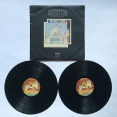 Led Zeppelin - The Song Remains the Same_OST_Vinyl Record LP_(SS 2-201)