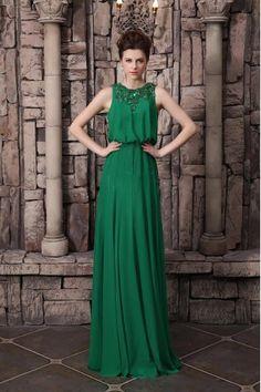 f608b68fc4 Charming Dark Green Jewel Neck Sequin Sheath Sleeveless Evening Dress  Vestido Verde
