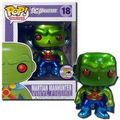 Martian Manhunter - DC Universe - Comic Con Exclusive - Funko Pop! Vinyl Figure