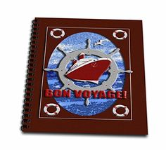 3dRose db_40406_2 Bon Voyage, Cruise Ship Memory Book, 12 by 12-Inch -- Continue with the details at the image link. #PaperCrafts