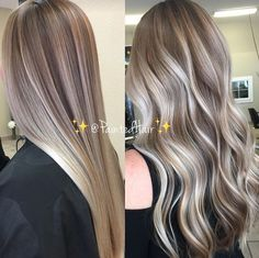 Violet Vanilla toned ✨PaintedHair✨ Straight an. - Violet Vanilla toned ✨PaintedHair✨ Straight an. - Trendfrisuren Joe, akkurater Mittelscheitel oder The french language Slice Kick the bucket Frisurentrends 2020 sin. Cabelo Ombre Hair, Balayage Hair, Ashy Blonde Balayage, Reverse Ombre Hair, Blonde Color, Ashy Blonde Highlights, Platinum Highlights, Color Highlights, Hair Painting