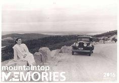 Cadillac mountain access road - 1934