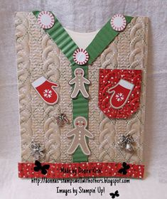 Stamps Well With Others: Ugly Sweater Season
