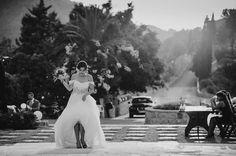 Fun Lebanese Wedding Outdoors
