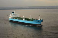 MSC Singapore October 2015 - Military Sealift Command (MSC) fleet replenishment oiler USNS Tippecanoe completed a fueling. Tanker Ship, Maersk Line, International Waters, Denmark, Singapore, Coast, Military, Sasebo Japan, Sea