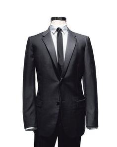 Modern  This minimalist, understated take on a two-button tuxedo will ensure that you're appropriately well suited for absolutely any formal occasion.
