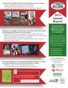 Monadnock Buy Local Annual Report 2013