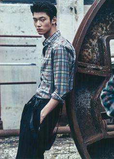 Jung Yong Soo by Lim Han Soo for GQ Korea Oct 2016