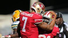 San Francisco 49ers Colin Kaepernick, Frank Gore