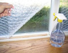 Bubble Wrap On Your Windows Can Save You A Lot Of Money During The Summer - Page 2 of 2 - D.I.Y Bullseye
