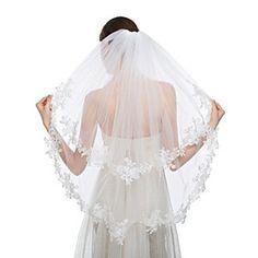 Cheap Wedding Veils Online   Wedding Veils for 2016..fingertip length