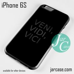 Veni Vidi Vici YZ Phone case for iPhone 6/6S/6 Plus/6S plus