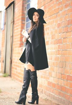 6ed6525a4 over the knee boots - Google Search Caps Hats, Blazer Fashion, Fashion Boots ,