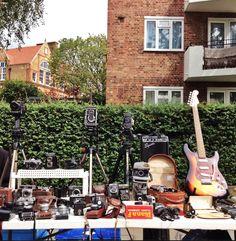 vintage cameras in Portobello Market