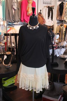 Spring tu tu's are a fun new trend to layer under your favs!
