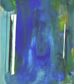 Helen Frankenthaler, Return and Exit