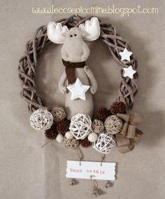 Le cose piccinine - la prima ghirlanda natalizia 2012