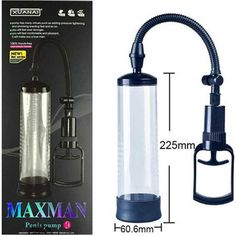 www.acilmarket.com _ 05554223012 _ Maxman Penis Pump 22.5 cm x 6 cm Fanuslu Kolay Vakum Etkili Penis Pompası C-X4003  22.5 santim boyunda, 6 santim kalınlığında, parçaları kolayca sökülebilen, elden kaymaz tırtıklı silindir fanusu olan ABS plastik ve hijyenik silikondan imal penis pompası
