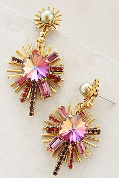 Centrale Earrings #anthropologie