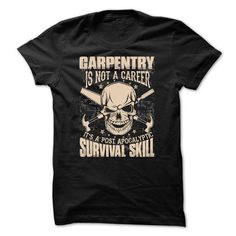 Awesome Carpenter Shirt - #v neck tee #sweater fashion. OBTAIN LOWEST PRICE => https://www.sunfrog.com/Funny/Awesome-Carpenter-Shirt-42391050-Guys.html?68278