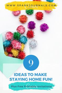 Get ideas and free printables to help make staying home fun. Free printables that kids can send to family and friends to stay in touch. Fun family activities, with printable invtiations. Emotional Resilience, Emotional Regulation, Growth Mindset For Kids, Mindfulness Activities, Invitation Paper, Toolbox, Our Kids, Family Activities, Kids And Parenting