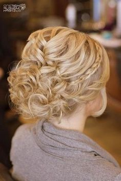 Curly Low Updo Hairstyles Another 15 Bridal Hairstyles Amp Wedding Updos