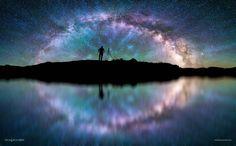 Sky High Tie Dye  #art #lovemyjob #longweekend #maine #nightphotography #mlkweekend by taylor_photo