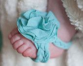 Barefoot Baby Sandals by Happy Bubbles Couture.
