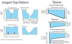 Sewing Tutorials Tops Dress Patterns Ideas For 2019 Korean Blouse, Korean Dress, Korean Outfits, Clothing Patterns, Dress Patterns, Sewing Patterns, Sewing Tutorials, Sewing Projects, Tutorial Sewing