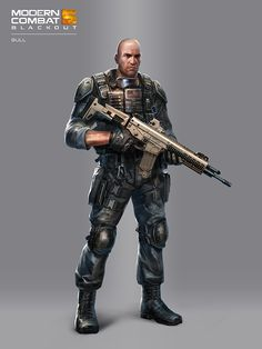 A selection of Illustrations and Concept Art from our latest project, Modern Combat 5: Blackout