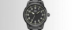 Laco Uhrenmanufaktur-Fliegeruhr Miyota Automatk Uhrwerk