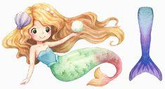 """Meerjungfrau Flossen """"Mermaids"""" für Mädchen Das beliebte Meerjungfrau Kostüm in der Schweiz kaufen Verwandeln Sie Ihre Tochter in eine elegante Meerjungfrau-Prinzessin mit dem Meerjungfrauen-Anzug """"Mermaids"""". Diese Flossen kommen in diversen atemberaubenden Farben daher. Mädchen lieben es, im Wasser mit einer… Mermaid Purse, Cute Mermaid, Mermaid Illustration, Baby Illustration, Mermaid Drawings, Disney Drawings, Watercolor Mermaid, Watercolor Art, Mermaid Clipart"""