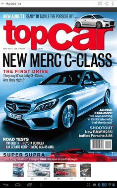 Topcar is your monthly fix of all things automotive, offering an industry-leading mix of superb photography and design, in-depth analysis and unbiased, expert opinion.<p>June 2014: The M3 stroy by the men behind the legend, Subaru WRX first full SA test and new discovery has it lost its way?<p>March 2014:<br> We've got the lowdown on Jaguar's next 3 series rival, plus we have a scoop test drive of the hottest road-going Jag ever, the F-type R Coupe. We also chat to Formula One's danger man…