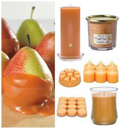 Pear-fection! Juicy pears coated with butterscotch and caramel. Enjoy new Market Fresh Fragrance, Caramel Pear. Find it at PartyLite.com