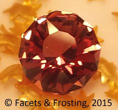 Sunstone, 1.37 cts, 7.2mm round.  US-sourced gem material (from Plush, Oregon). <AVAILABLE> on website