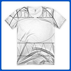 Blank Easter Egg allover printed American Apparel Women's T-shirt - Holiday and seasonal shirts (*Amazon Partner-Link)