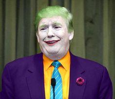 The Joker Donald Trump... ok, who did this?! LOL! Ya bad.