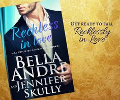 RECKLESS IN LOVE (The Maverick Billionaires, Book 2) is out now and we can't wait for you to read it! Please share this post with your friends to be entered for fabulous swag. <3 <3 <3 Bella Amazon Kindle ~ http://bellaandrefans.com/RIL_Kindle Apple iBooks ~ http://bellaandrefans.com/RIL_iBooks Barnes & Noble Nook ~ http://bellaandrefans.com/RIL_Nook Kobo ~ http://bellaandrefans.com/RIL_Kobo Google ~ http://bellaandrefans.com/RIL_GooglePlay Paperback (shipped from Amazon) ~ http://bellaand