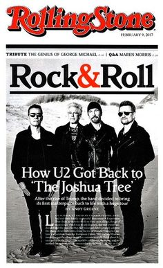 16 Best U2 On The Cover Of Rolling Stone Images In 2017 Bono U2
