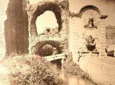 Porta Furba, fosso dell'acqua Mariana con ponticello Anno: 1870